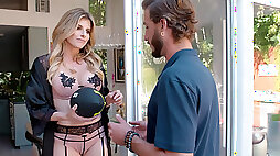 Cory Chase fucks her neighbor after cancelled date