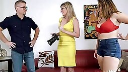 Cory Chase Britt James Photos with Daddy