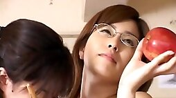Japanese lesbians in highschool