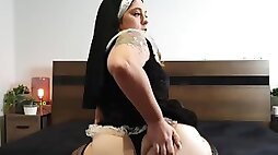 Naughty nun JOI. Forgive me father for I have sinned...