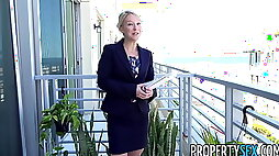 PropertySex Southern MILF real estate agent gets creampie