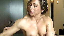 Wild tattooed milf rides king size dong and gives blowjob