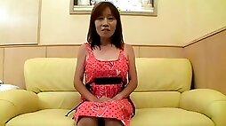 old Shy Granny Nagura acquires Creamed Uncensored