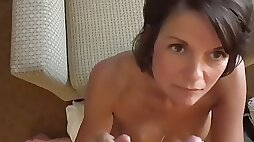 Dirty wife mother tessa gives titjob sweet her stepson