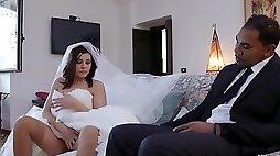 Italian Bride Gets Bbc