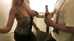 Italian Step sister made her brother cum just before mom came home