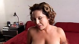 Fit old spunker enjoys hard fuck and a sticky facial cumsh