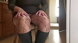 Spandex angel hot house wife teasing the plumber