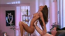 Asian eye candy is a vivacious lover during a hot reverse cowgirl
