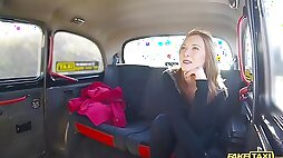 Horny Sweet enjoys hard sex with a stranger in the taxi