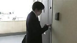 Japanese wife having an affair with another man