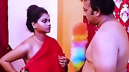 Desi Mallu Aunty With Big Tits And Pussy her tits Fucked By Uncle