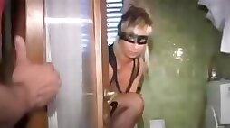 Masked wife down for some freaky stuff