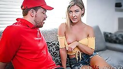 Sharing Wife With The Pizza Boy