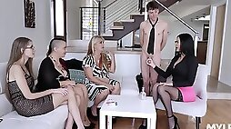 Awesome compilation with a gorgeous Brooklyn Chase who loves being fucked
