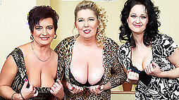 Three Big Breasted Housewives Fucking And Sucking In Pov Style MatureNL