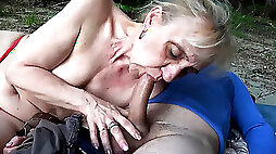 years old mom first public beach sex