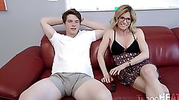 Cory Chase fun games with step mom